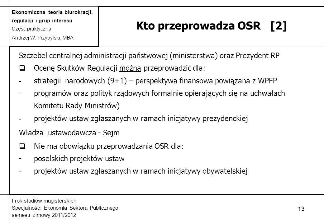 Kto przeprowadza OSR [2]